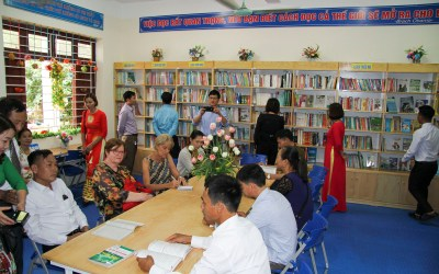 New Child-Friendly Library Opens with Support from HIWC