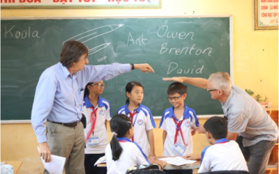 Aussie English Teachers See Growth In Students Over Years of Visits