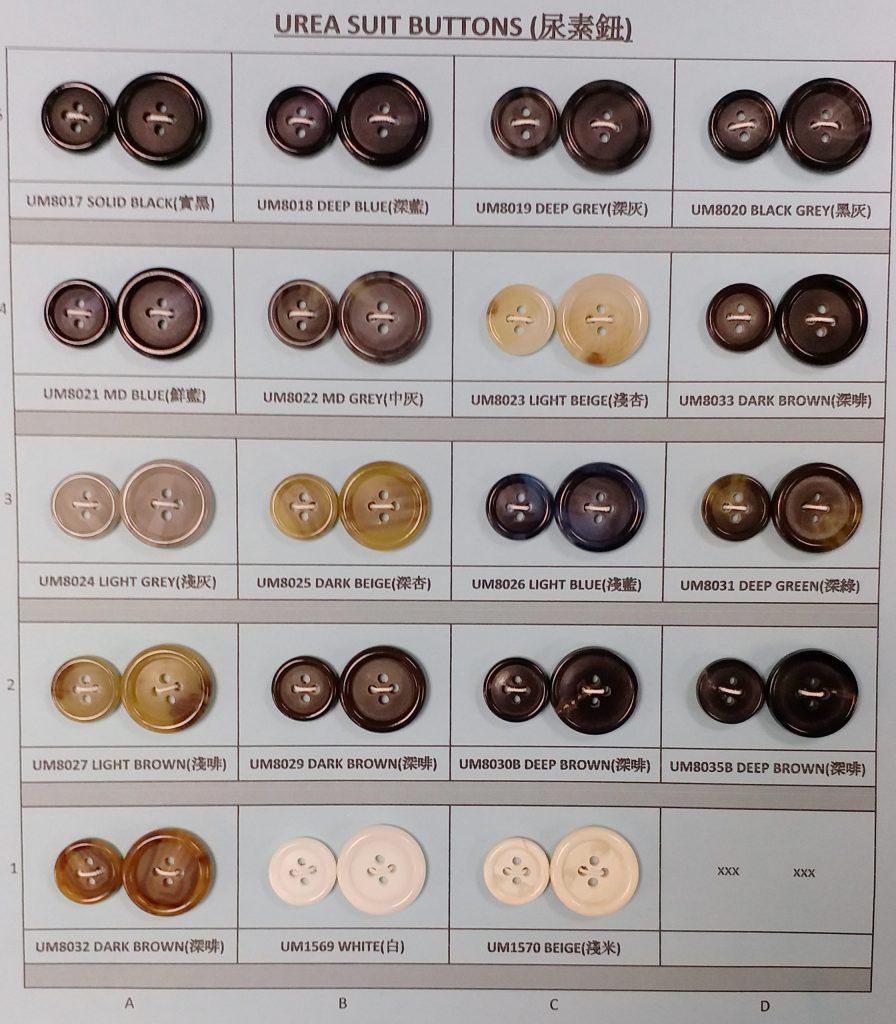 Urea Suit Buttons Card 1