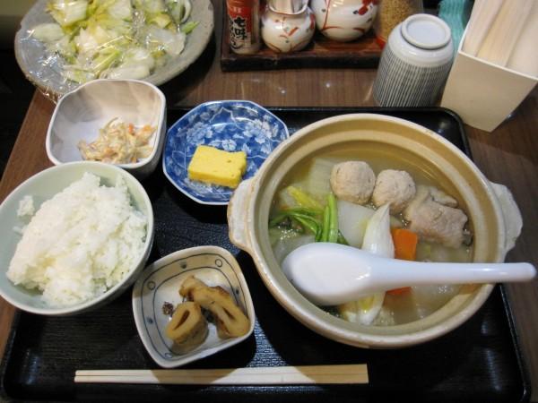 ちゃんこ鍋定食