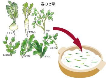 七草粥レシピ