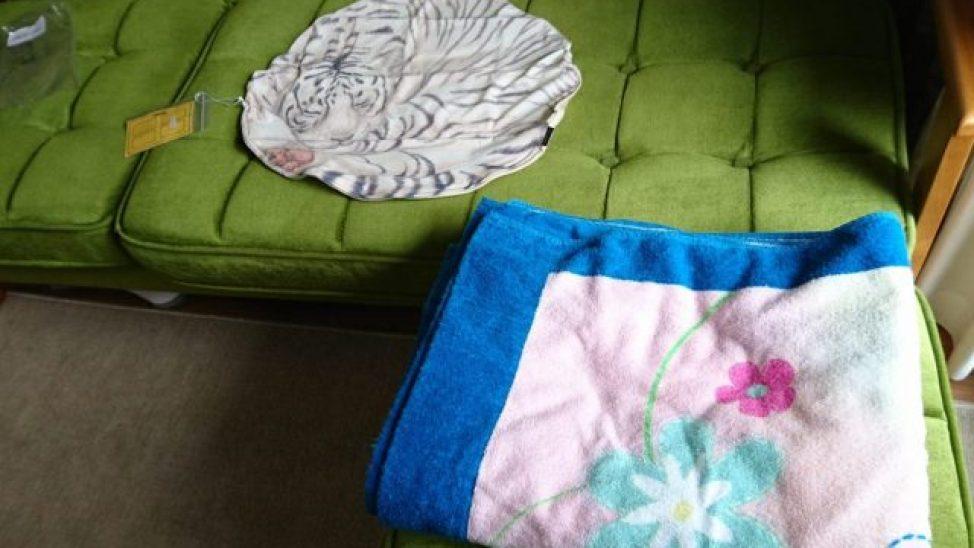 毛布収納袋 フェリシモ