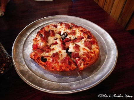 Customized pizza in West Yellowstone, MT