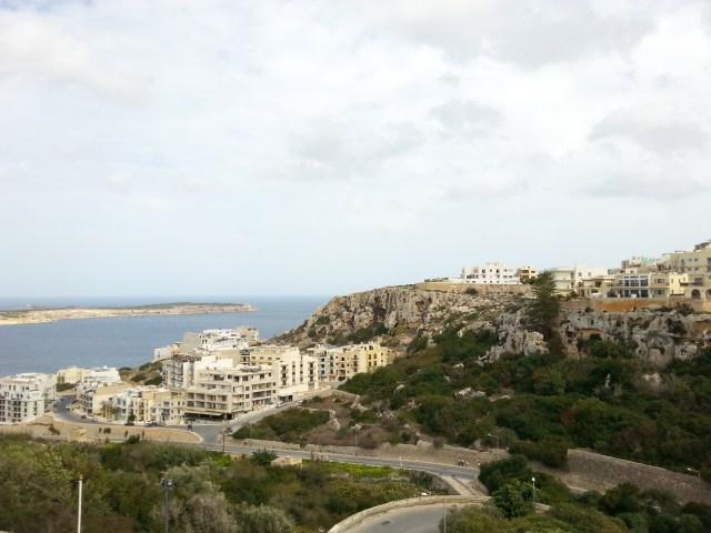 01 Malta urbanistyka widok pejzaż punkt widokowy morze zabudowa architektura wnętrza