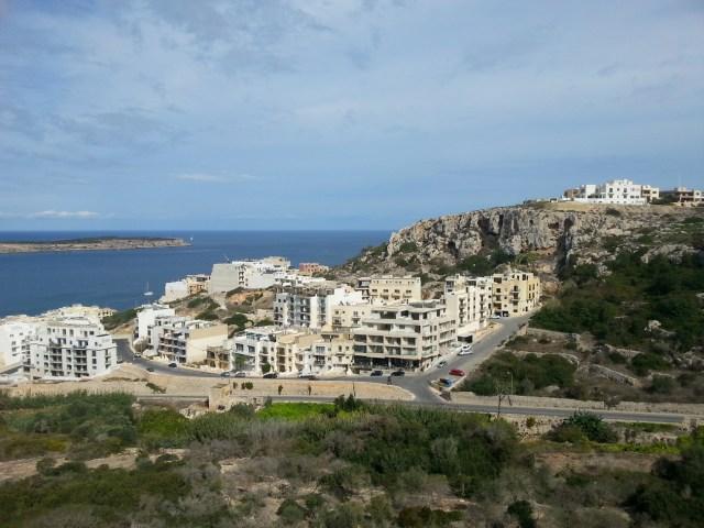 17 Malta widok morze zabudowa architektura
