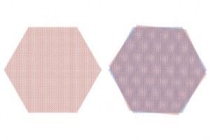 Dvě vrstvy grafenu, pootočené o magický úhel