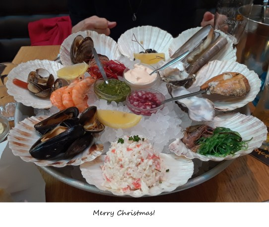 ZN Xmas 2018 Amsterdam Seafood Bar dinner main 0518