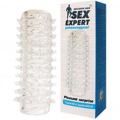 Насадка на член 2 в 1 Sex Expert SEM-55008