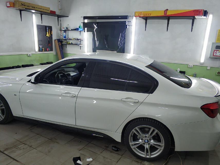 Тонировка BMW 3 в Зеленограде