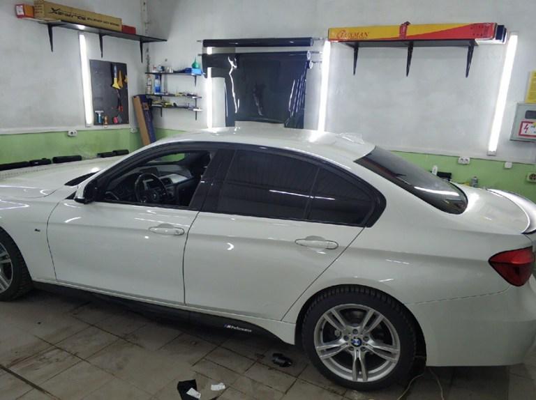 Затонировали BMW 3