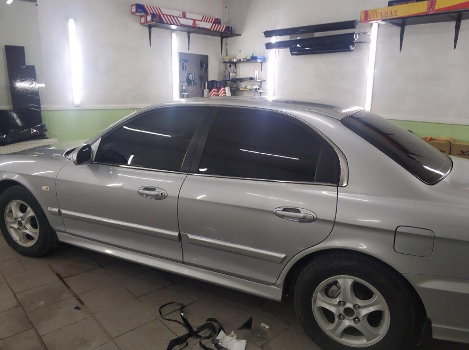 Затонировали Hyundai Sonata Зеленоград