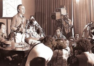 Пресс-конференция Ш.Переса и М.Гура.