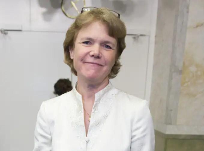 Universitetskansler Harriet Wallberg. Foto: Roger Vikström