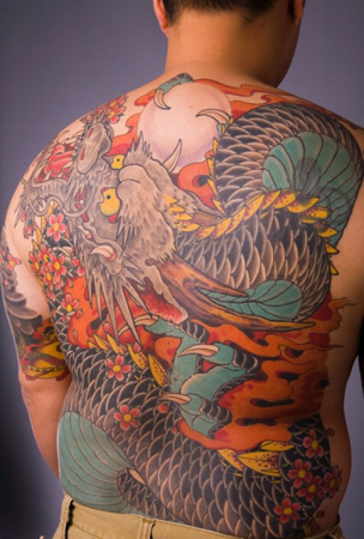 Japanese Dragon Tattoos - Tips for Finding the Perfect Japanese Dragon Tattoo-1