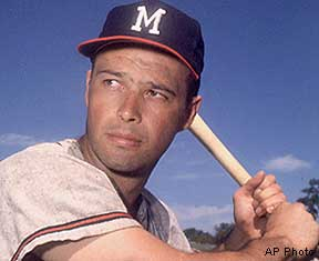 Image result for eddie mathews