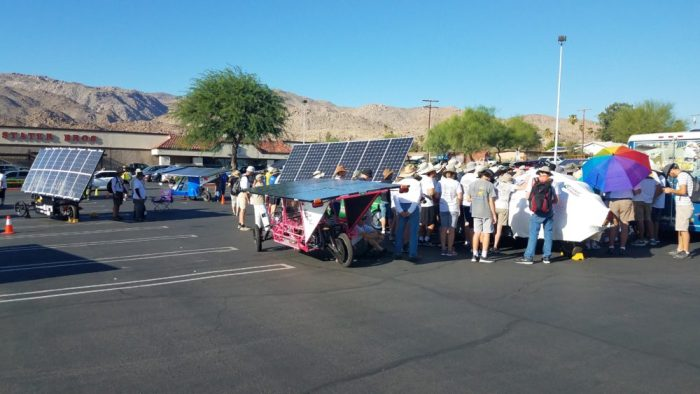 07.23.18 - Cody Joseph broadcasting live from the Solar Car Challenge