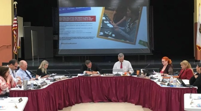SCHOOL BOARD TABLES ADULT-STUDENT INTERACTION POLICY