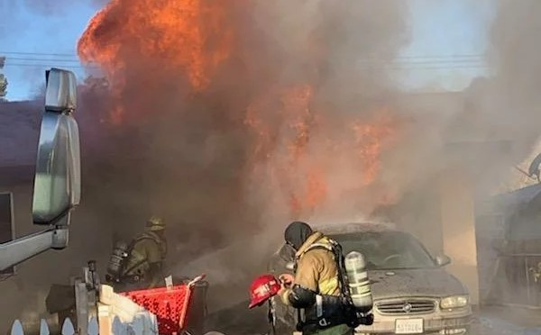 SECOND FIRE IN THREE MONTHS DESTROYS YUCCA VALLEY HOUSE