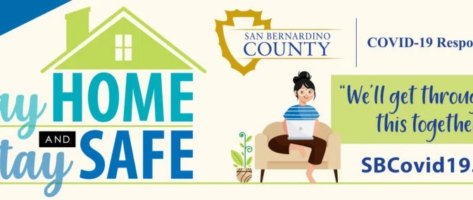 """COUNTY LAUNCHES BILLBOARD CAMPAIGN: """"STAY HOME, STAY SAFE"""""""