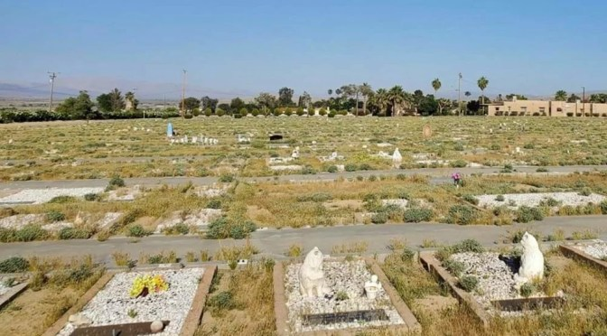 TWENTYNINE PALMS CEMETERY LOOKING FOR HELP AS IT RECOVERS AND REBUILDS