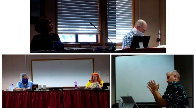 MORONGO UNIFIED SCHOOL BOARD DISCUSSES RE-OPENING SCHOOLS AND DISTANCE LEARNING