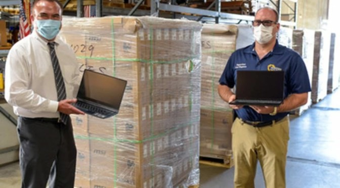 COUNTY TO DELIVER 2,000 LAPTOPS TO SCHOOLS