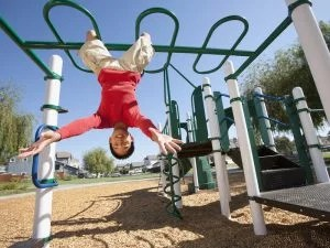 FEELING THE HEAT, CALIFORNIA REOPENS PLAYGROUNDS