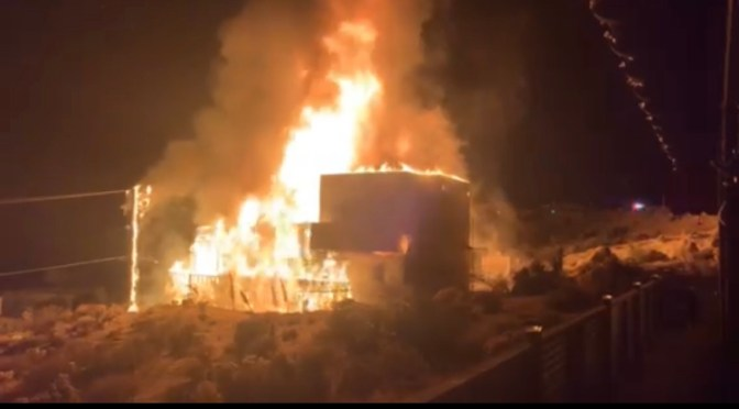 NO BODY FOUND AFTER YUCCA VALLEY FIRE, CAUSE UNDER INVESTIGATION