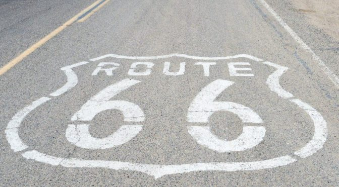 HISTORIC ROUTE 66 IN CALIFORNIA RECEIVES NATIONAL SCENIC BYWAY STATUS