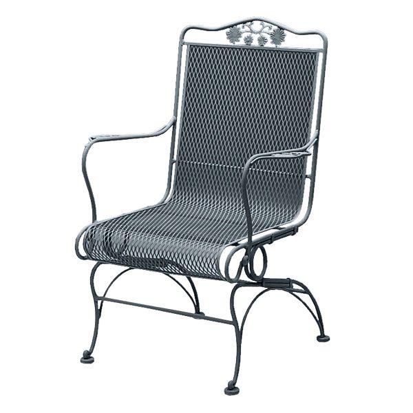 briarwood hi back coil spring chair