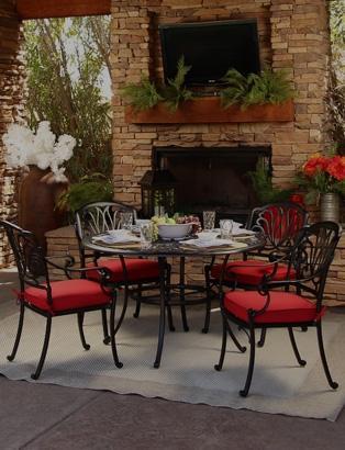 cast aluminum furniture today s patio