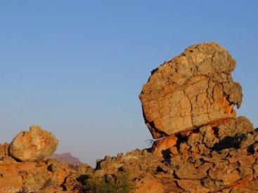 Cederberg Sunset on Rock Formation