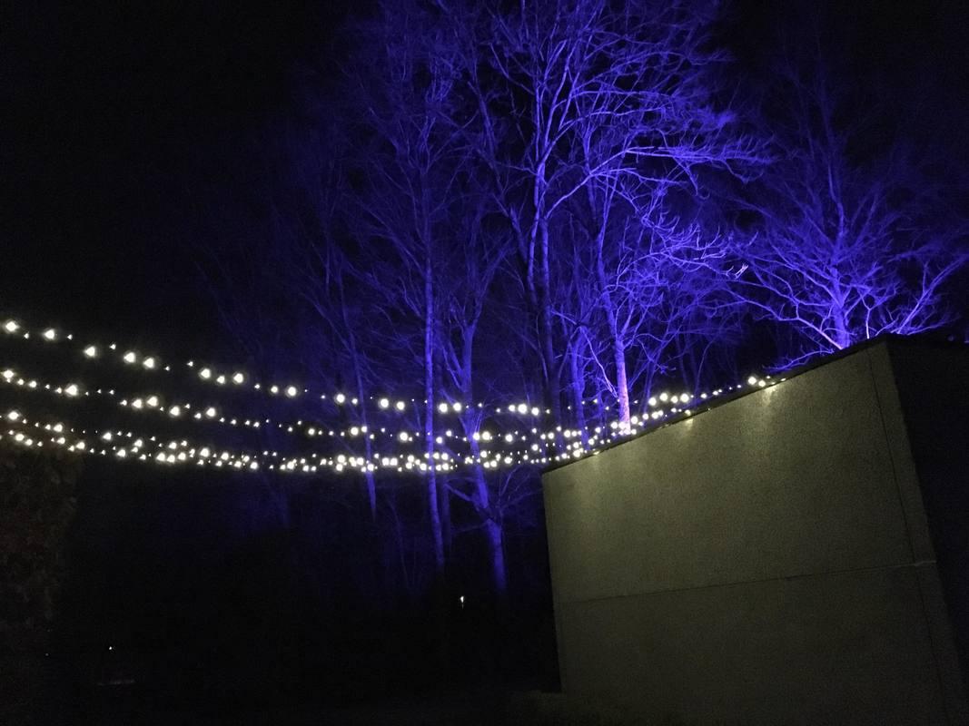 Uitlichten omgeving Klepper voor privé galabal