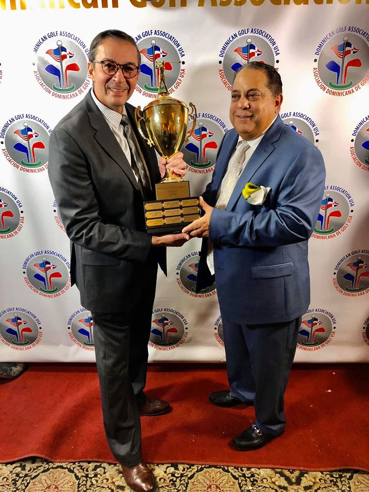 Guillermo Reyes golfista del año 2019 de la Dominican Golf Assocciation (USA)
