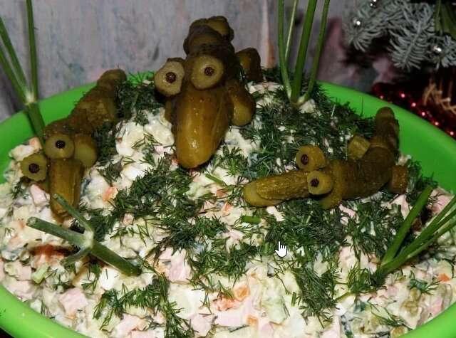 50 оттенков салата: что россияне подают к столу