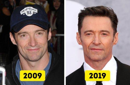 14 знаменитостей, которые за 10 лет совсем не изменились