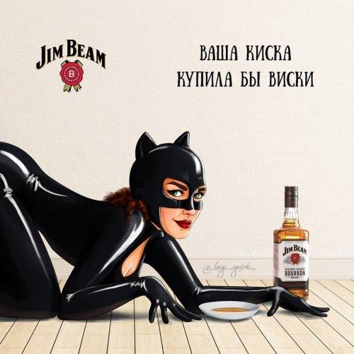 Если бы известные персонажи и супергерои снялись в рекламе (12 фото)