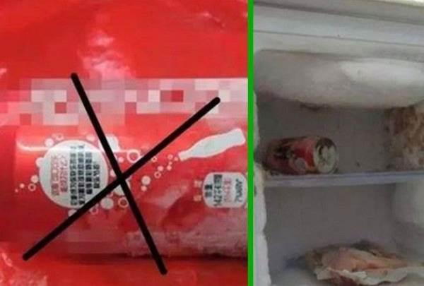 Вот что нельзя хранить долго в холодильнике в избежание взрыва ( 3 фото )