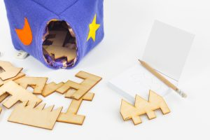 Magiczne pudełko - gra rozwijająca myślenie przestrzenne Lundi