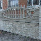 арка и панель еврозабора-карпатский камень