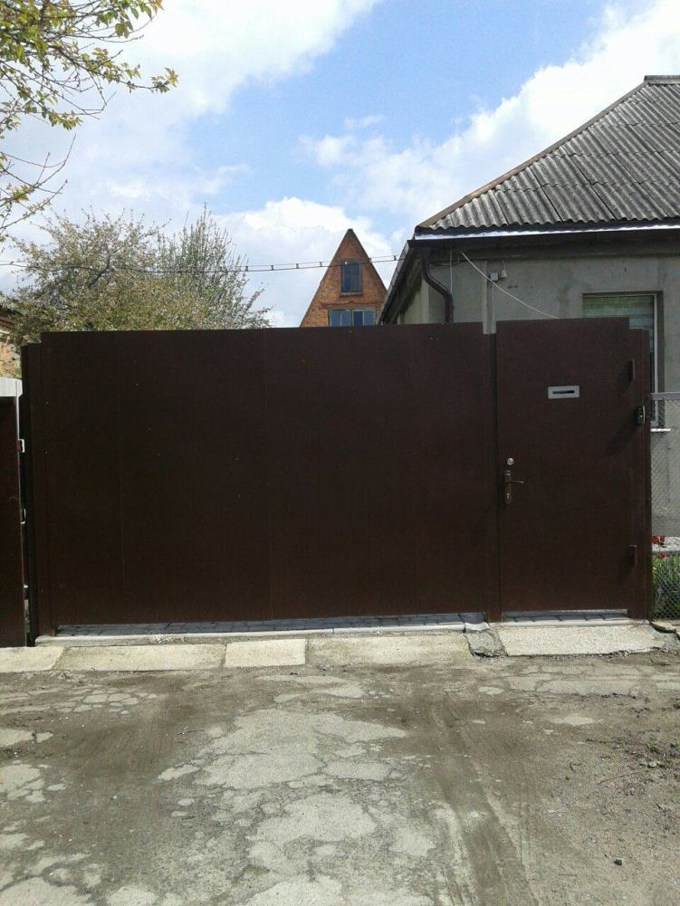 установка ворот в Харькове
