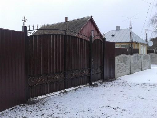 ворота и калитка