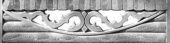 еврозабор харьков бревно арка ажурная