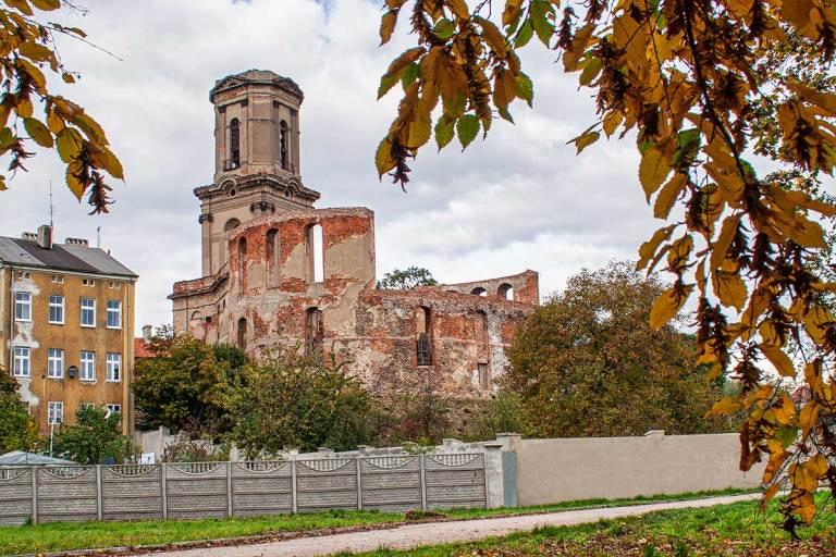 Zamek w Szprotawie