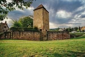 Mury miejskie w Wissembourg