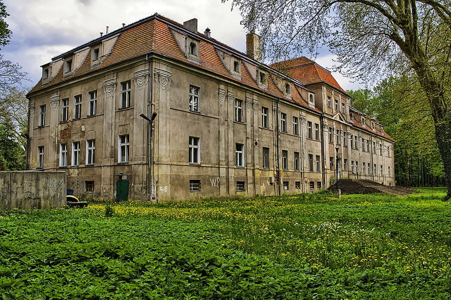 Zamek w Sławie