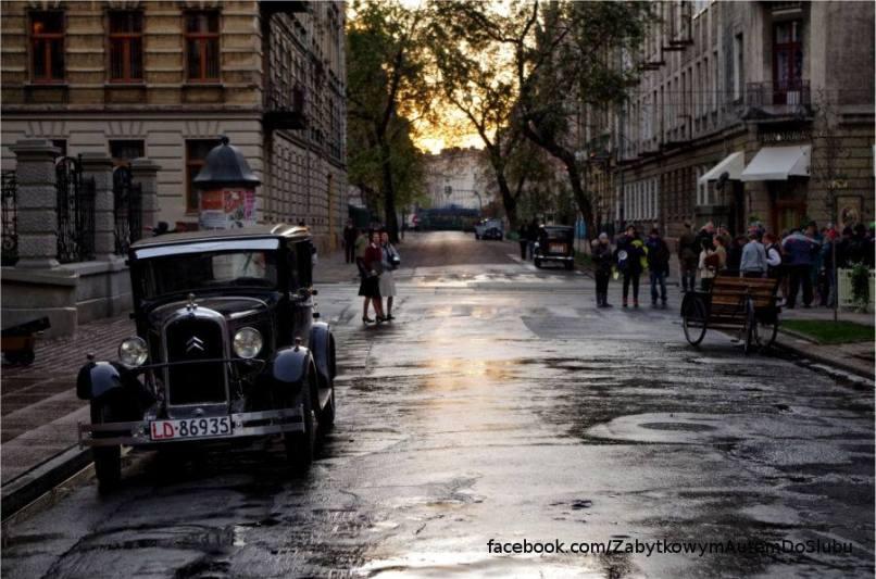 """Zdjęcie z planu filmu """"Music, War and Love"""", miejsce: Akademia Muzyczna w Łodzi"""