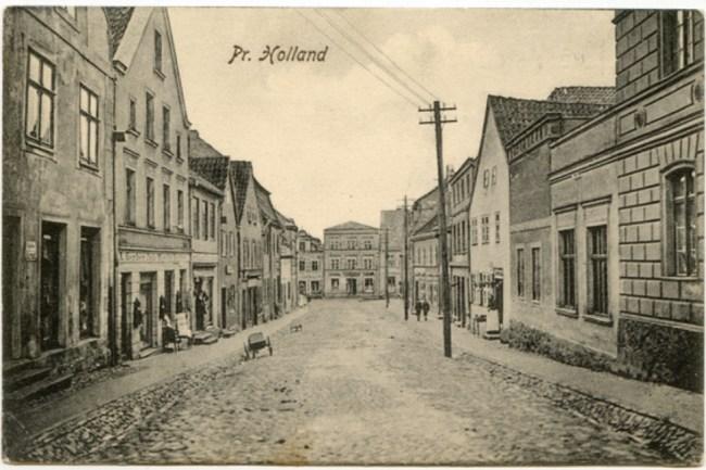Straßenansicht 1905-1910