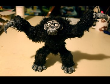 Creature of The Loin Stop Motion Puppet