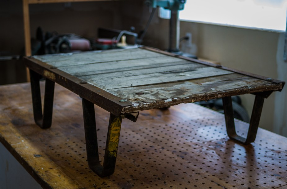 Industrial Stacking Cart Table (1 of 33)